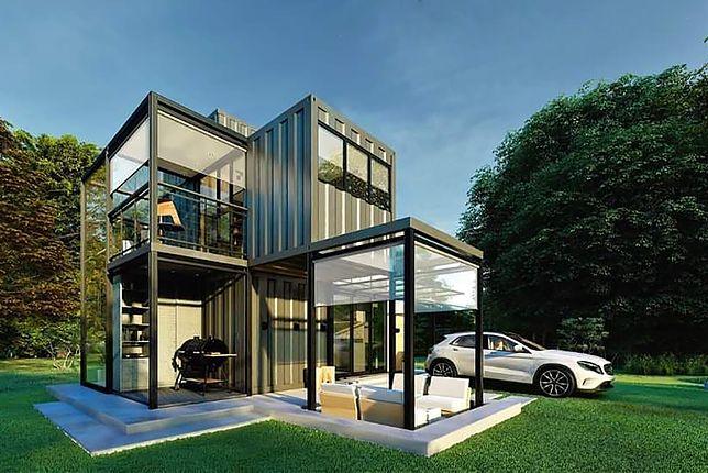 Ekologiczne, piękne i praktyczne. Oto najlepsze domy zrobione z kontenerów, jakie widzieliśmy