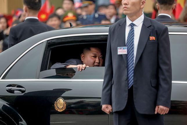 Kim Dzong Un dotarł na spotkanie z Donaldem Trumpem. Przyjechał pociągiem