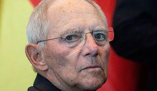 Szef Bundestagu Wolfgang Schaeuble uważa, że Niemcy powinny traktować Polskę bardziej poważnie