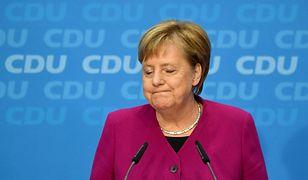 Angela Merkel zapowiedziała swoje odejście