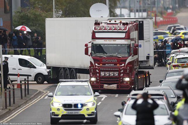 Wielka Brytania. 39 ciał w ciężarówce. Zatrzymano piątą osobę