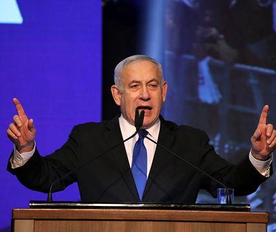 Wybory w Izraelu. Dotychczasowy premier Benjamin Netanjahu