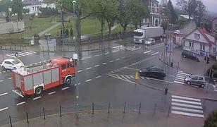Do wypadku doszło przy pl. Kościuszki w Sokółce