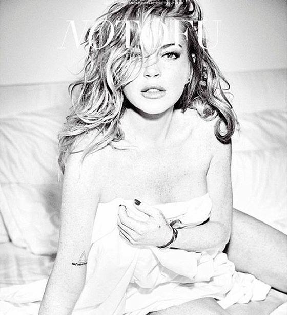 """Lindsay Lohan w sesji okładkowej """"No Tofu"""""""