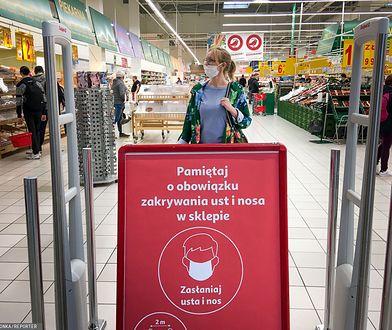 Koronawirus w Polsce. Policjanci sprawdzą, czy Polacy noszą maseczki