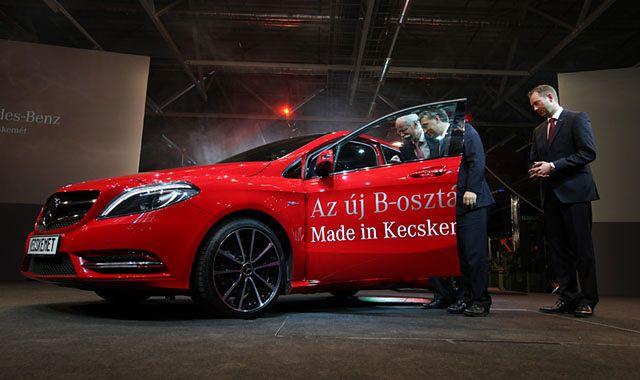 Mercedes będzie produkował mniejszego CLS-a na Węgrzech