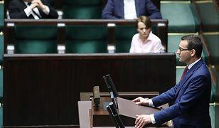 Noc z 27 na 28 marca  - Sejm zajmuje się propozycją tzw. tarczy antykryzysowej