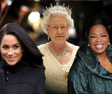 Oprah próbuje zrobić z królowej szefową mafii?! Chodzi o jedno pytanie
