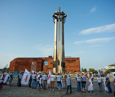 Gdański plac Solidarności