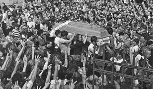 Pogrzeb Grzegorza Przemyka przyciągnął tłumy w 1983 r.