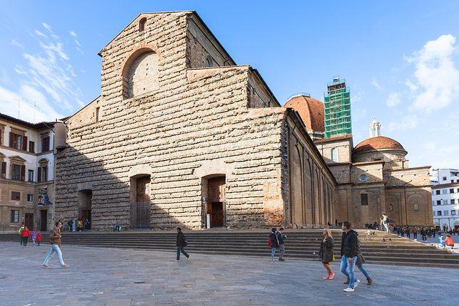 Florencja – sekretne pomieszczenie, wypełnione rysunkami Michała Anioła
