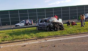 W wypadku na A4 zginęła jedna osoba