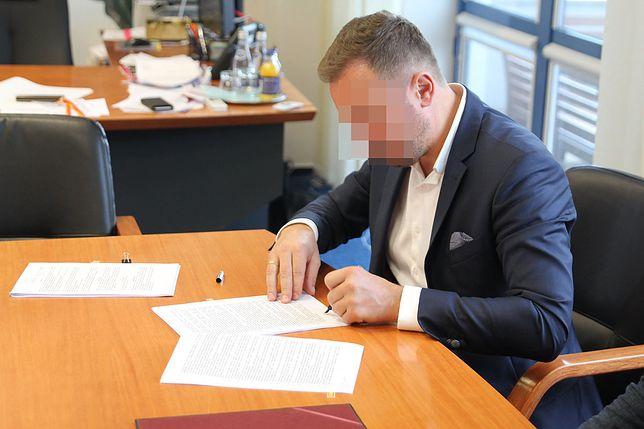 Warszawa. Były burmistrz Włoch Artur W. zostanie w areszcie