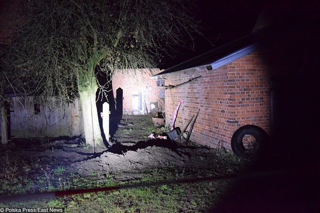 Szczątki dzieci zakopane były w pobliżu domu pary w Ciecierzynie