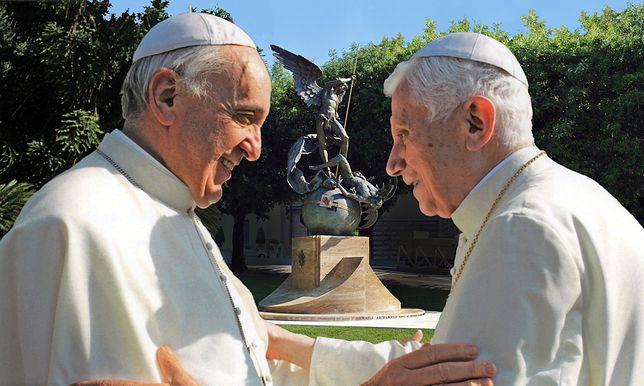 """Franciszek i Benedykt XVI to główni (anty)bohaterowie """"Papieża"""""""