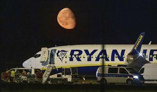 Berlin. Awaryjne lądowanie samolotu linii Ryanair do Krakowa