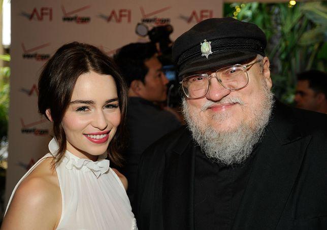 Emilia Clarke, serialowa Daenerys i George R.R. Martin