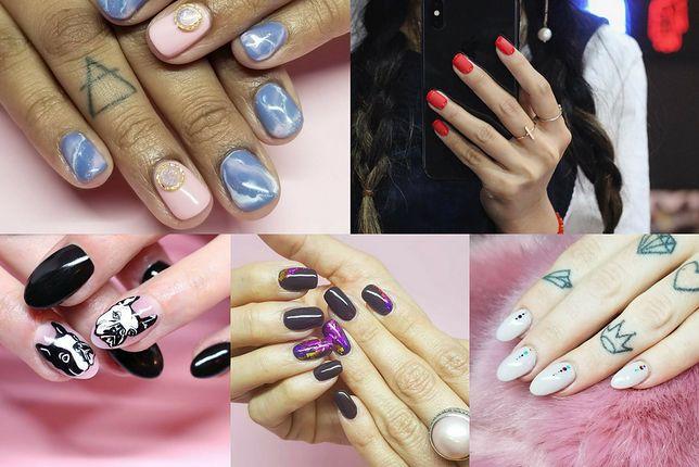 Paznokcie hybrydowe możemy ozdobić na wiele sposobów nie tylko u kosmetyczki, ale również samodzielnie (fot. nail_unistella, tamaradilullo)