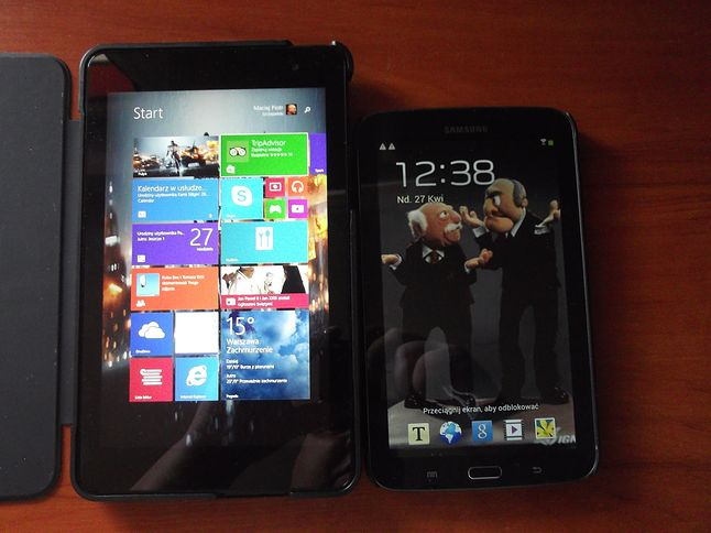 Dell Venue 8 Pro vs Samsung Galaxy Tab 3 7