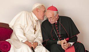 Anthony Hopkins i Jonathan Pryce - trudno o lepszych aktorów do roli Benedykta XVI i Franciszka