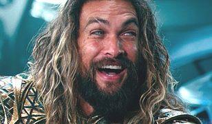 """Jason Momoa jako Aquaman w """"Lidze Sprawiedliwości"""""""
