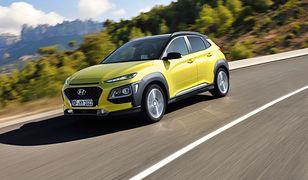 Hyundai Kona osiąga maksymalne noty w testach zderzeniowych Euro NCAP