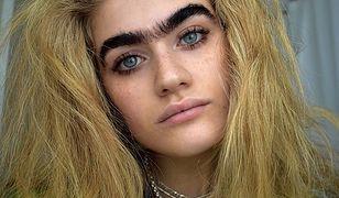 21-letnia Sophia Hadjipanteli ma zrośnięte brwi. Zarzucają jej hipokryzję