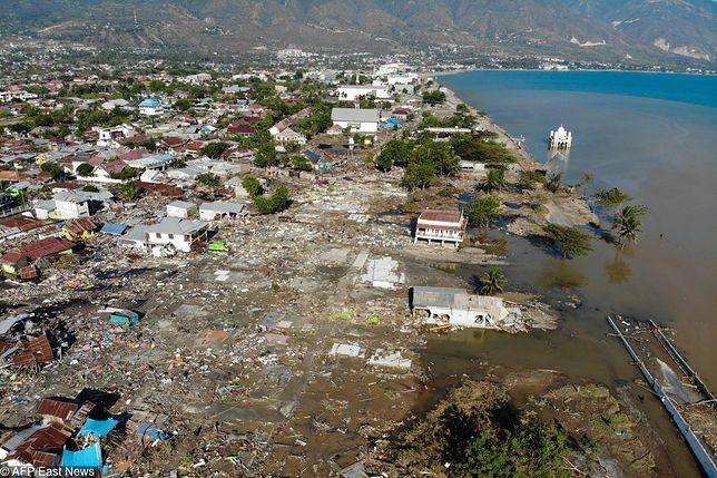 Kolejny wstrząs w Indonezji. Rośnie bilans ofiar kataklizmu