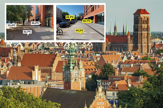 """68,3 st. C w centrum Gdańska. """"To ostrzeżenie"""""""