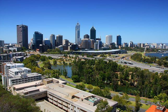 Słoneczne miejsca na świecie - Perth, Australia