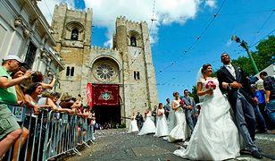 Lizbona - darmowe śluby w święto miasta