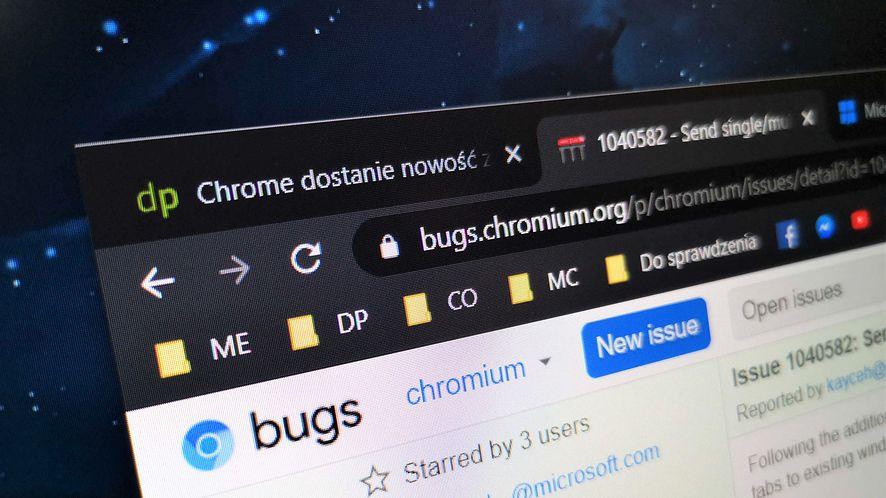 Google Chrome dostanie nowość, która ułatwi przenoszenie kart do okien, fot. Oskar Ziomek
