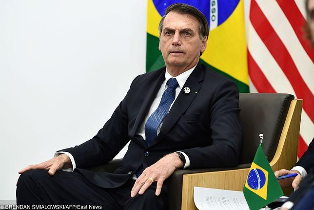 Ochroniarz prezydenta Brazylii przemycał kokainę rządowym samolotem