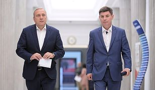 Grzegorz Schetyna i Jan Grabiec