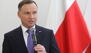 Największym poparciem w badaniu cieszy się prezydent Andrzej Duda
