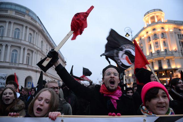Koalicja Antyfaszystowska manifestowała w Warszawie