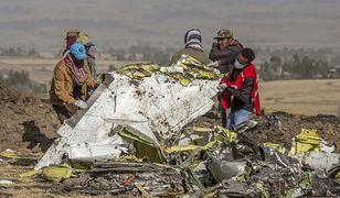 Katastrofa Ethiopian Airlines. Bardzo niepokojące dane z czarnych skrzynek