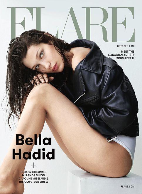Zmysłowa sesja Belli Hadid