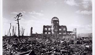 Zniszczona Hiroszima po wybuchu bomby atomowej