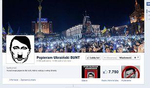 Internauci solidarni z Ukrainą... na Facebooku