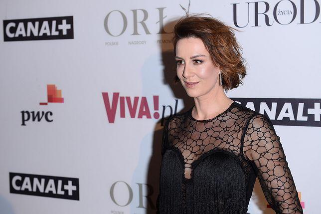 Maja Ostaszewska wróciła na plan zdjęciowy