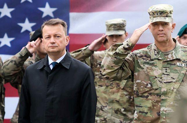 Wojska USA w Polsce. Szef MON po rozmowie z Pentagonem