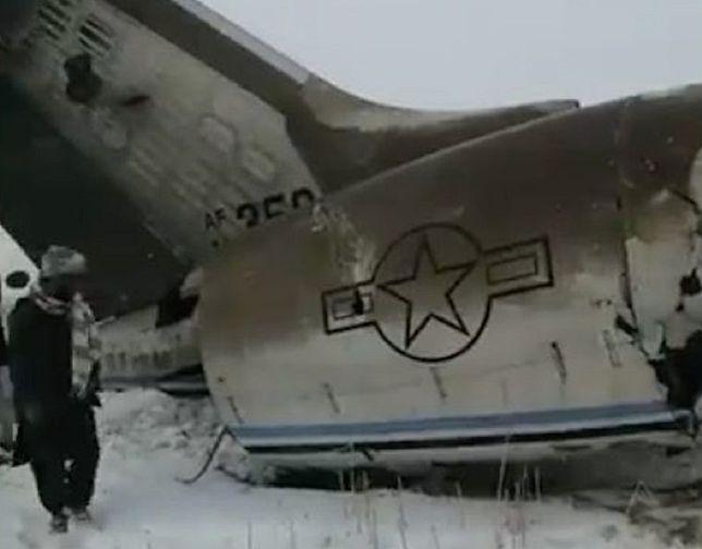 Katastrofa samolotu w Afganistanie. USA potwierdza: to wojskowy Bombardier E-11A