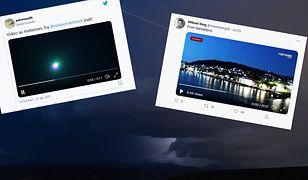 Meteor nad Norwegią. Przerażeni ludzi dzwonili na policję