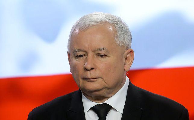 Na zdjęciu Jarosław Kaczyński