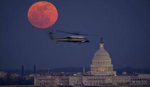 Księżyc w pełni nad Waszyngtonem