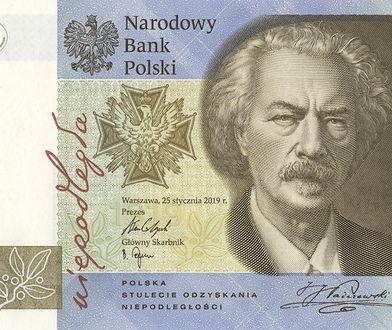 Nowy banknot o nominale 19 zł.