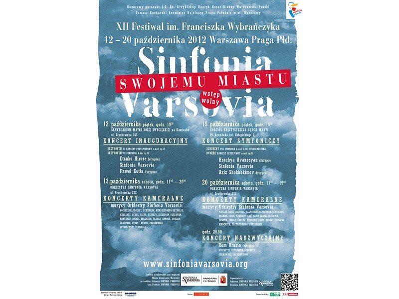 "Za darmo: festiwal ""Sinfonia Varsovia swojemu miastu"""