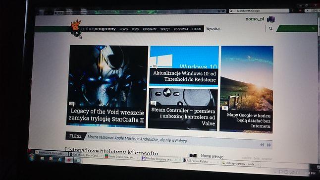 zdj. ekranu