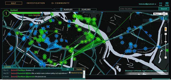 Mapa w przeglądarce